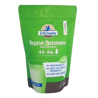- Vegan Protein Mix - Vanilla. 500g - Not organic