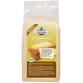 Organic Lemon Cake Organic Baking Mix - reduced carbohydrate content - 160g