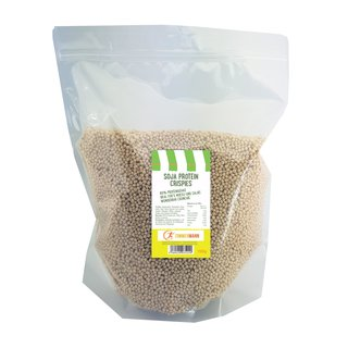 Soy Protein Crispies 60% protein content 1000g - from Zimmermann Sportnahrung